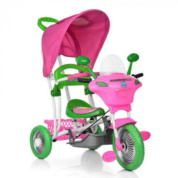 Велосипед трехколесный Bambi B 3-9 / 6012 Розовый