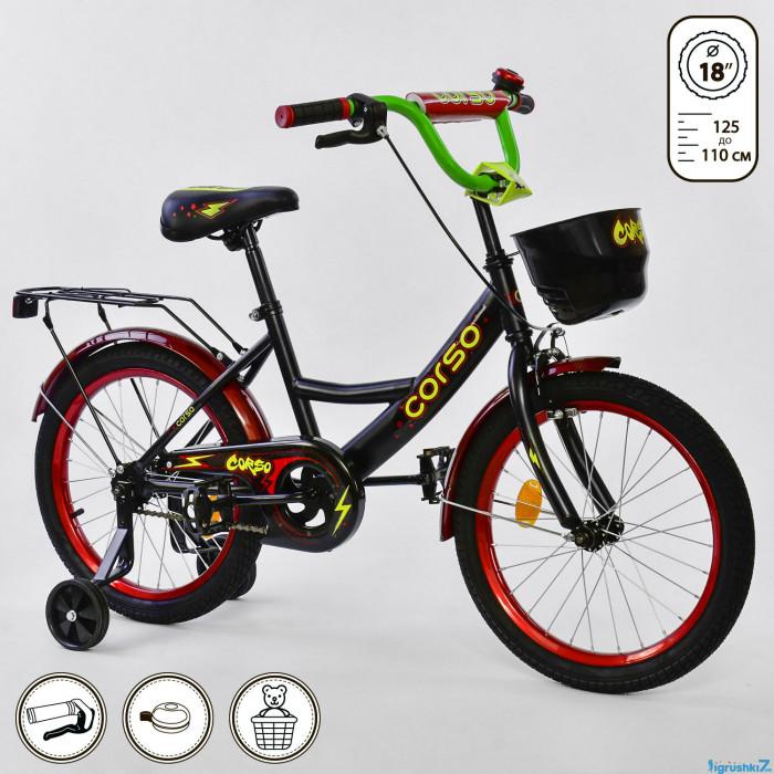 """Детский велосипед 18"""" дюймов G-18050 """"CORSO"""""""