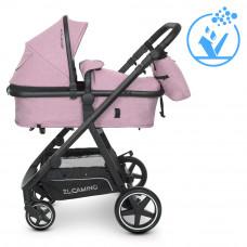 Коляска детская 2в1 ME 1069 ALLIANCE Denim Ash Pink