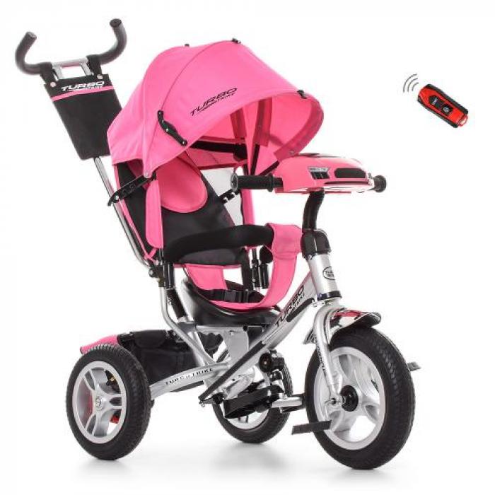 Велосипед трехколесный Bambi M 3115HA-10R Розовый