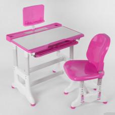 Парта со стульчиком J 55701 Розовая