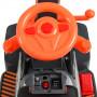 Электромобиль ТРАКТОР Bambi M 4141L-7 Оранжевый