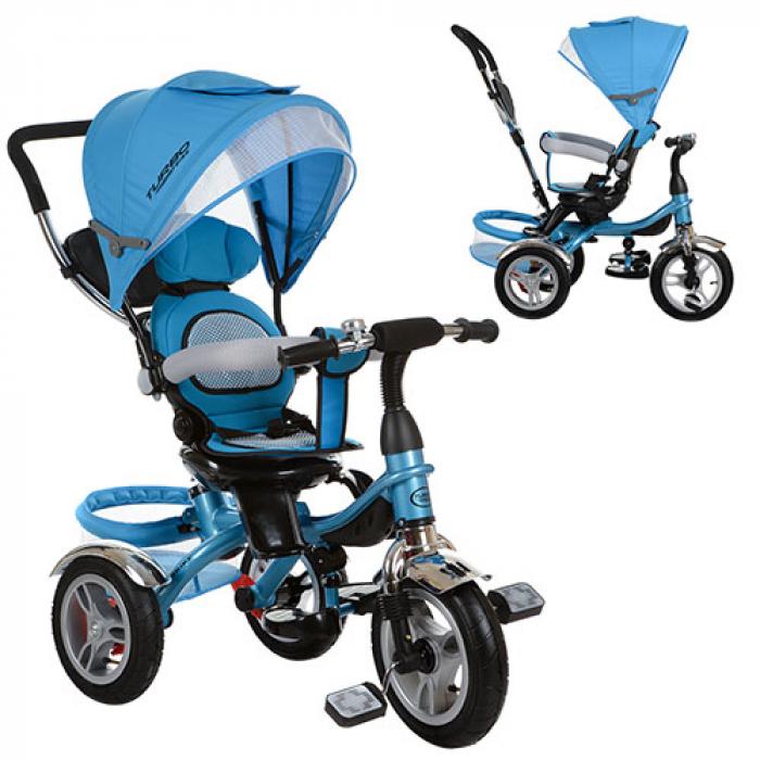 Велосипед трехколесный Bambi M 3114-5A Голубой
