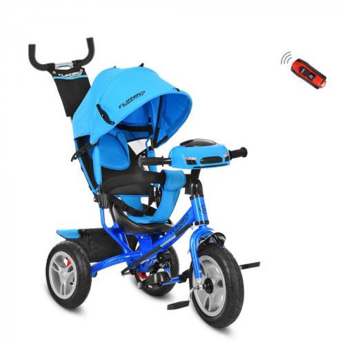Велосипед трехколесный TURBOTRIKE M 3115-5HA Голубой