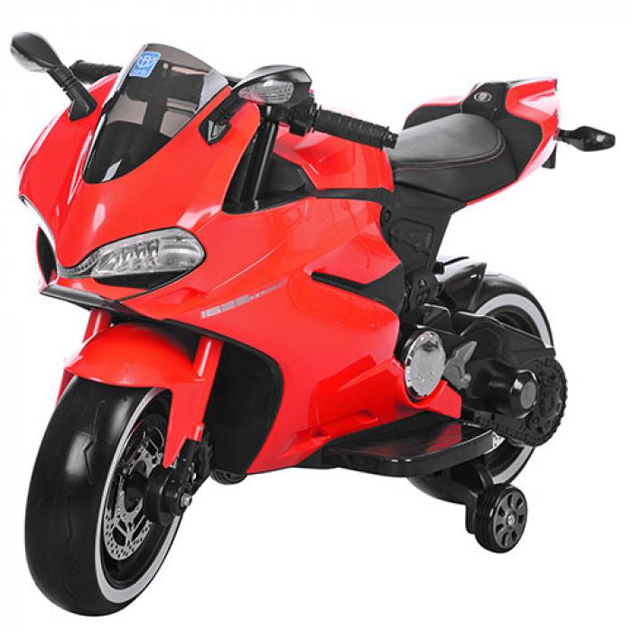 Мотоцикл Bambi M 3467EL-3 Красный