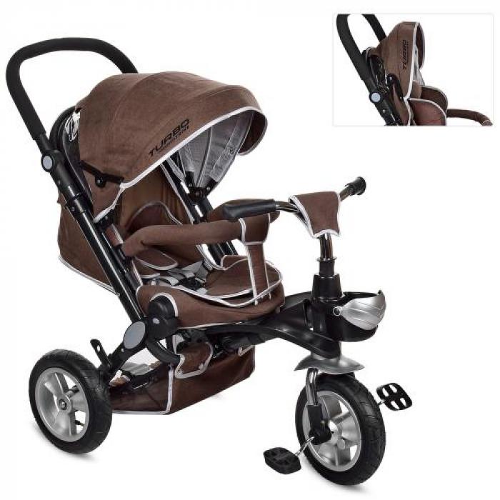 Детский трёхколёсный велосипед M AL3645A-13 Коричневый