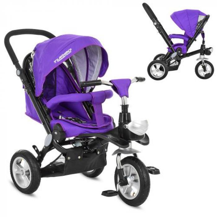 Велосипед трехколесный TURBOTRIKE M AL3645A-8 Фиолетовый