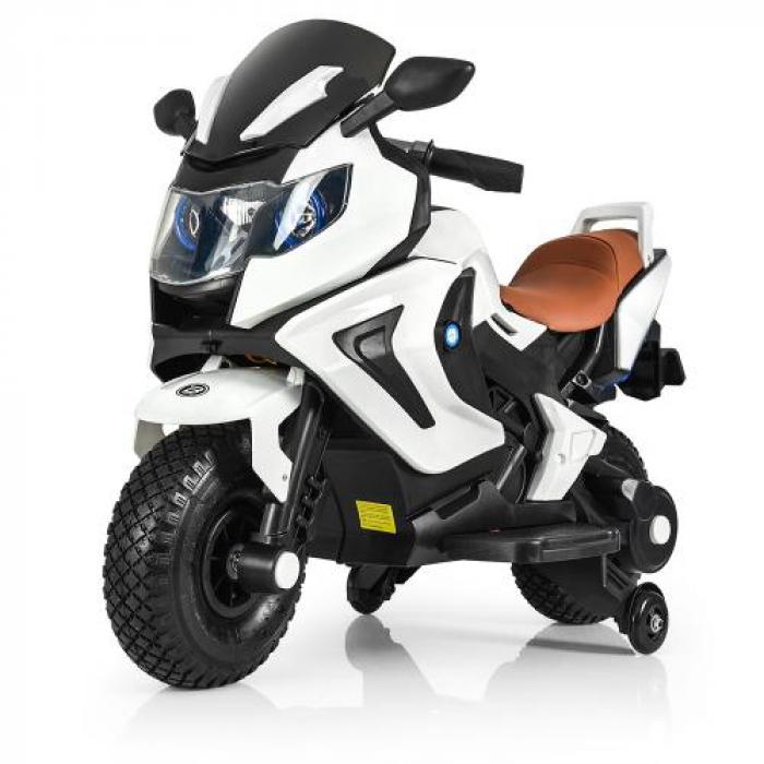 Мотоцикл Bambi M 3681AL-1 Белый