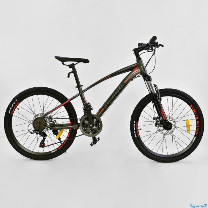 Велосипед Спортивный CORSO FURIOUS 24 дюйма, JYT 009 - 3962