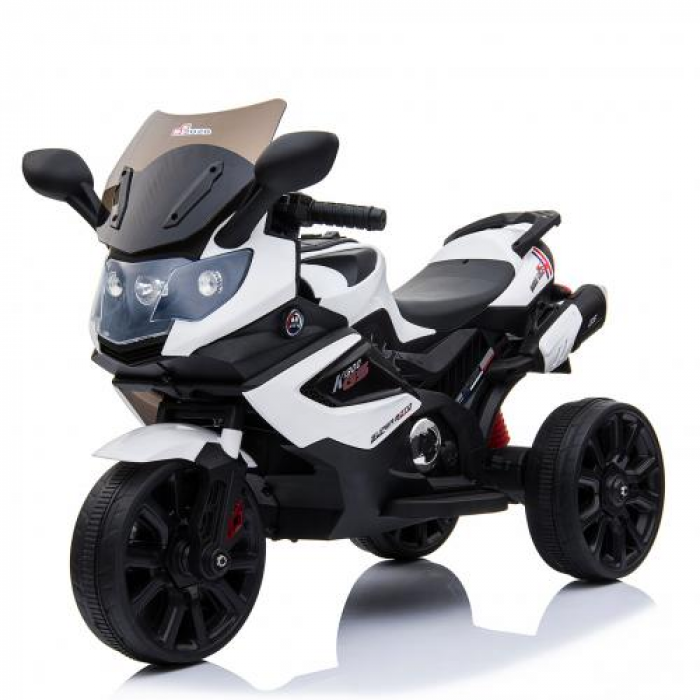 Мотоцикл Bambi M 3986EL-1 Белый