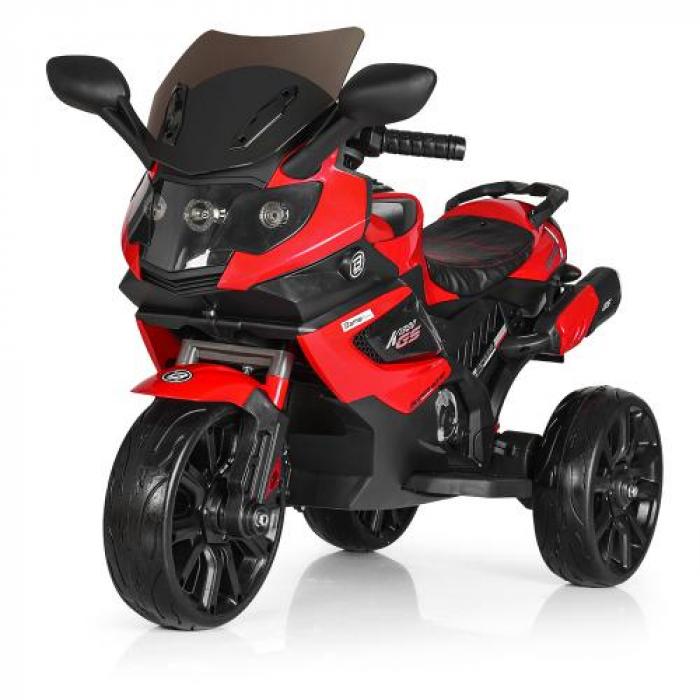 Мотоцикл Bambi M 3986EL-3 Красный