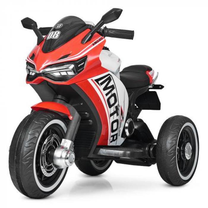 Мотоцикл Bambi M 4053L-3 Красный