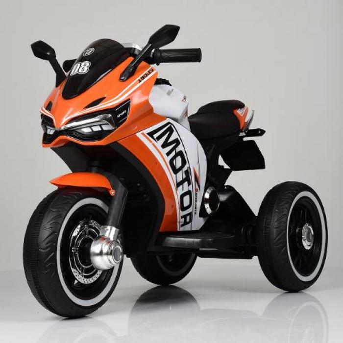 Мотоцикл Bambi M 4053L-7 Оранжевый