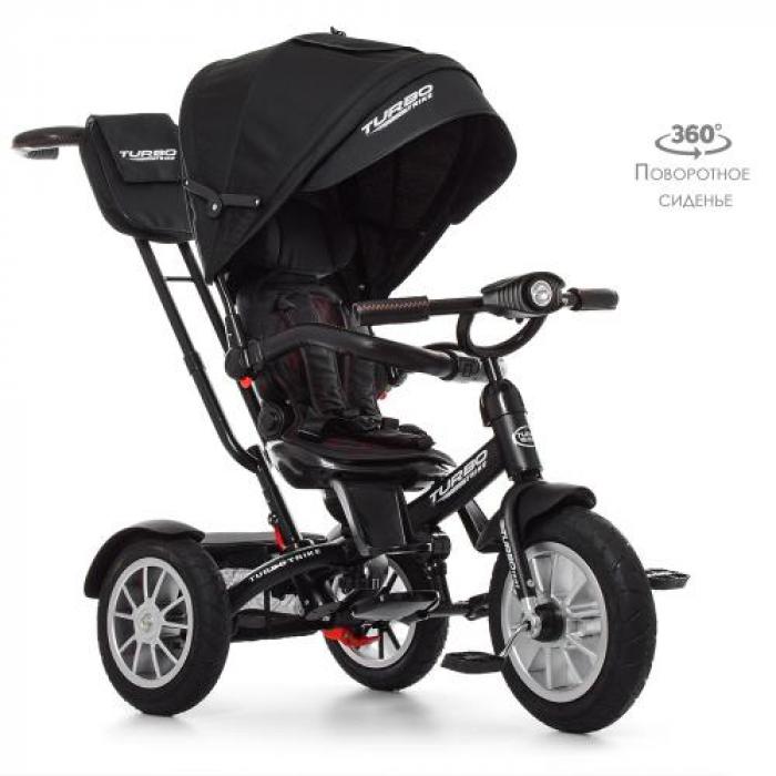Велосипед трехколесный TURBOTRIKE M 4057-20 Чёрный