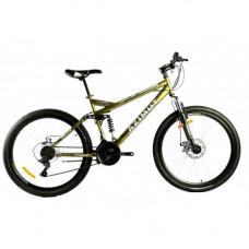 Велосипед 26 дюймов RACE 18*FR/D Azimut Жёлтый