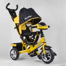 Велосипед трехколесный 6588 - 21-909 Best Trike Жёлтый