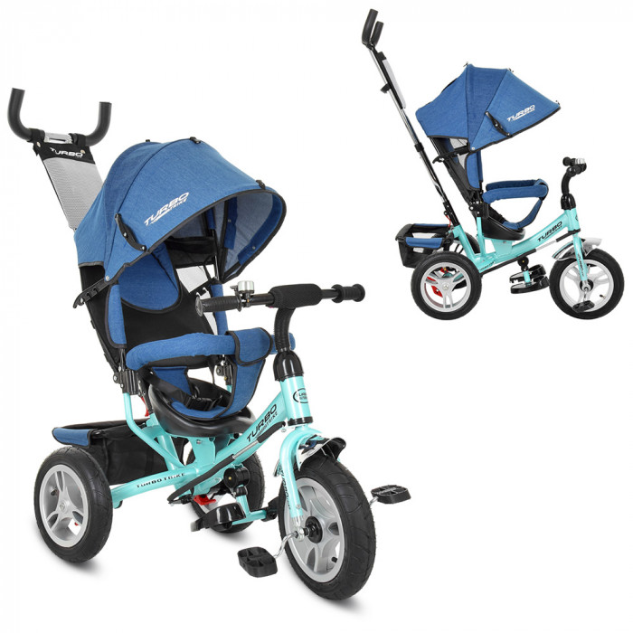 Велосипед трехколесный Bambi M 3113AJ-15 Голубой