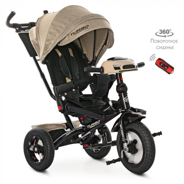Велосипед трехколесный TURBOTRIKE M 4060HA-7L Бежевый