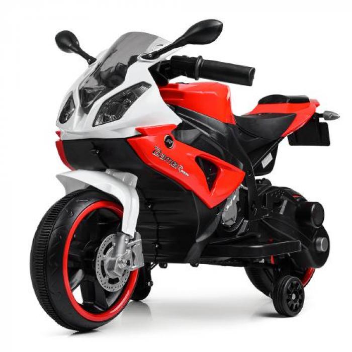 Мотоцикл Bambi M 4103-1-3 Красный