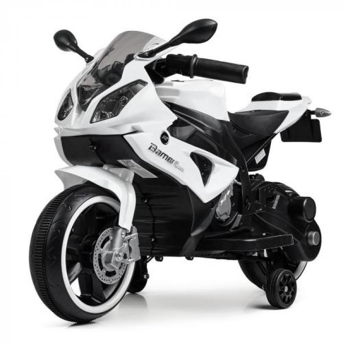 Мотоцикл Bambi M 4103-1 Белый