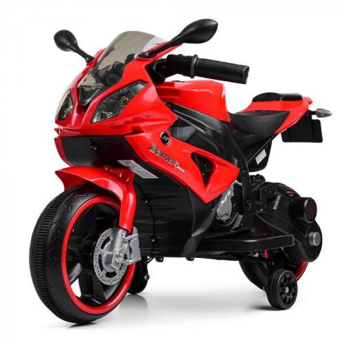 Мотоцикл Bambi M 4103-3 Красный