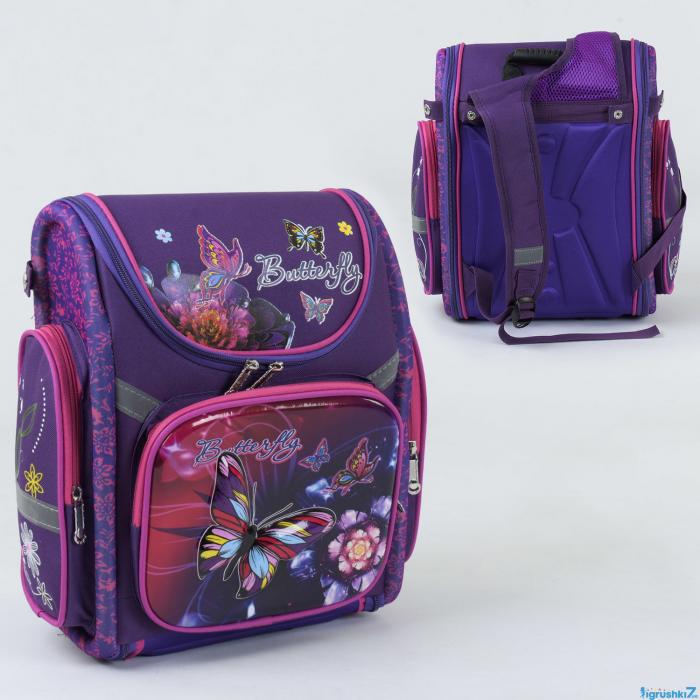 Рюкзак школьный каркасный С 36187