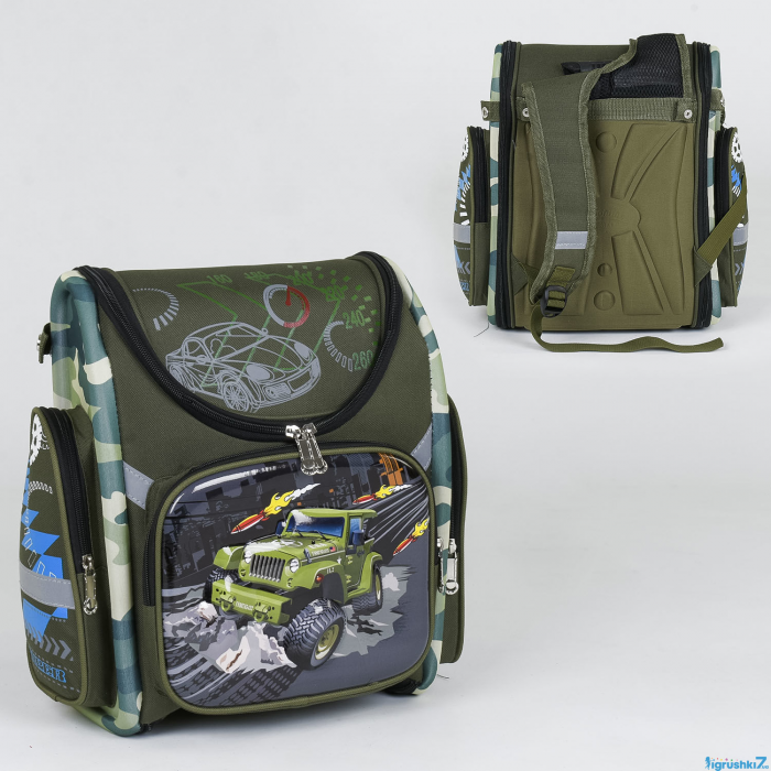 Рюкзак школьный каркасный C 36196