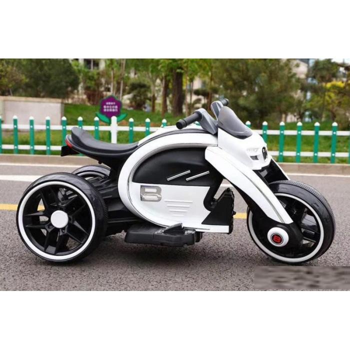 Мотоцикл Bambi M 4134A-1 Белый