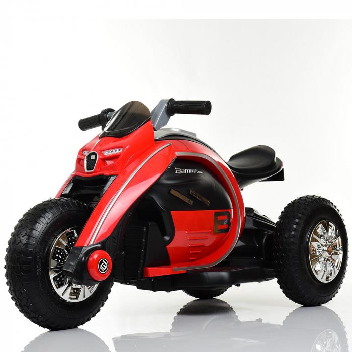 Мотоцикл Bambi M 4134A-3 Красный