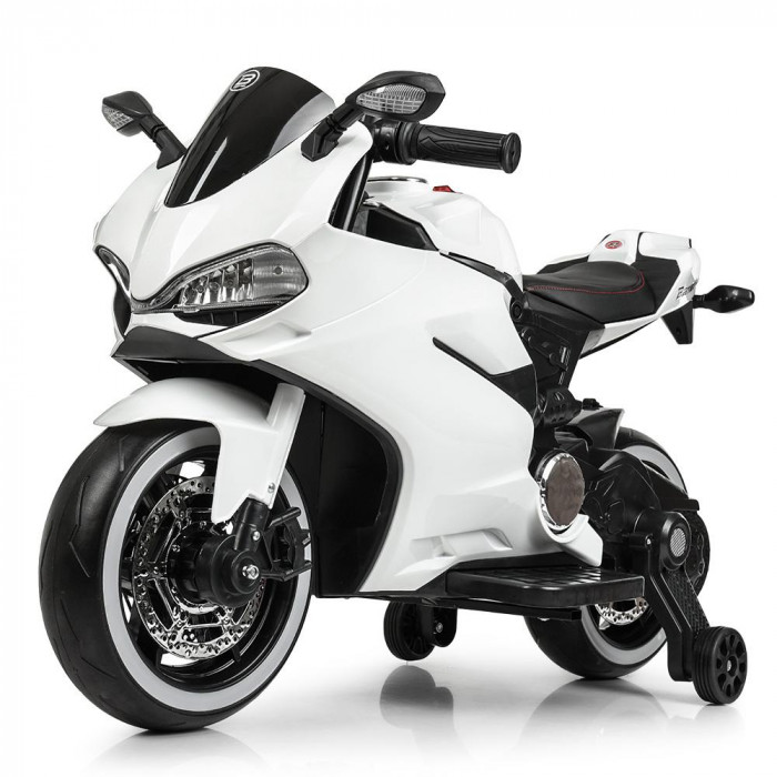 Мотоцикл Bambi M 4104EL-1 Белый