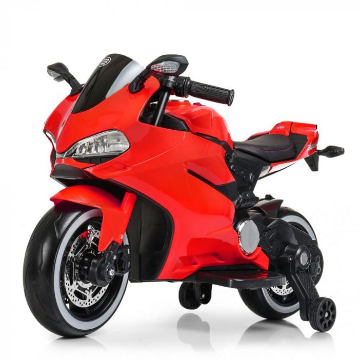 Мотоцикл Bambi M 4104EL-3 Красный