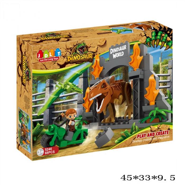 Детский конструктор  JDLT 5246 Парк Динозавров
