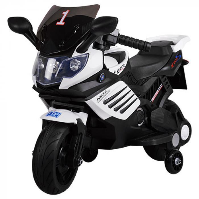 Мотоцикл Bambi М 3582E-1 Белый