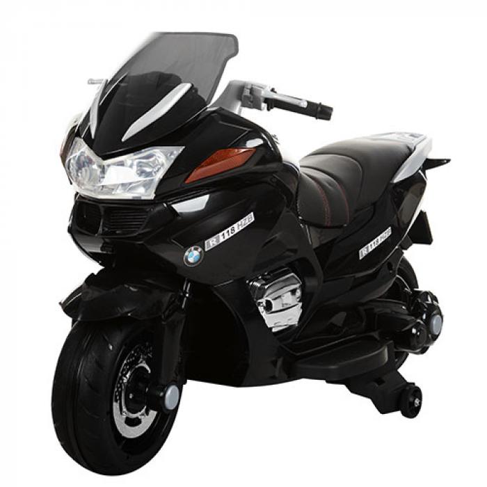 Мотоцикл Bambi M 3282EL-2 Черный