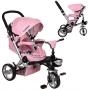 Велосипед трехколесный Bambi M AL3645-10 Розовый