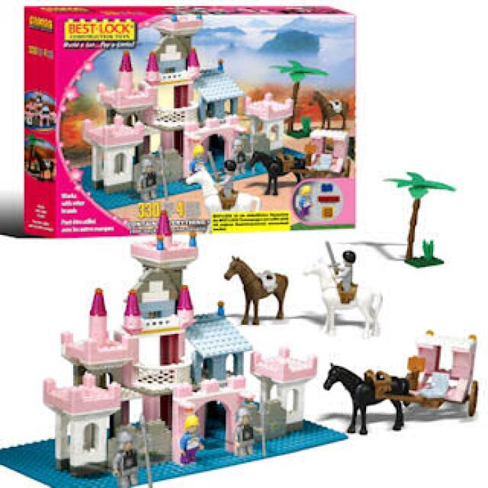 Детский конструктор замок принцессы 33051