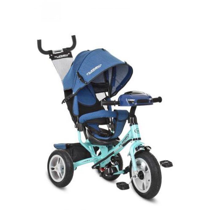 Велосипед трехколесный TURBOTRIKE M 3115HAJ-15 Голубой