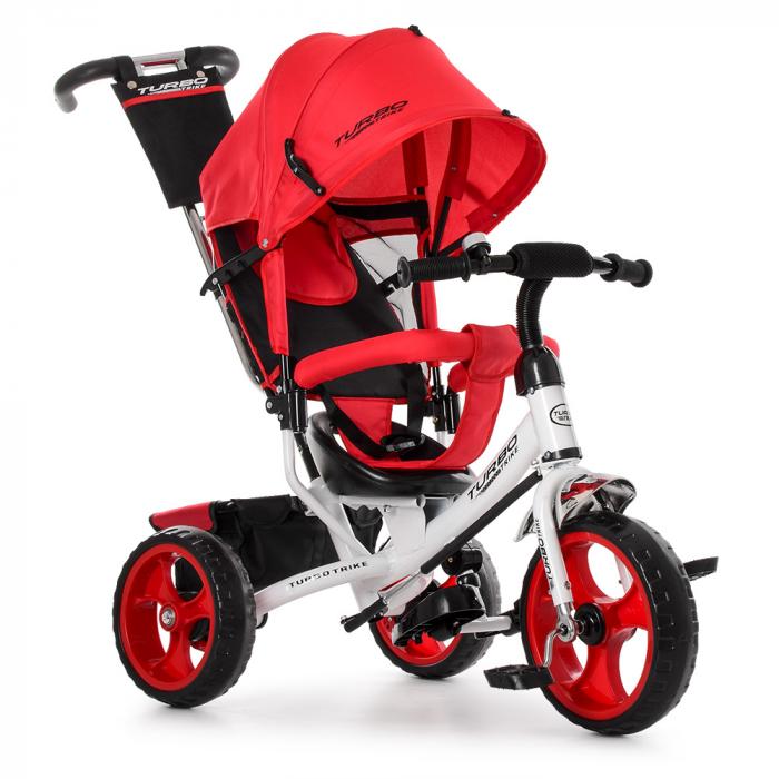 Велосипед трехколесный M 3113-3 Красный
