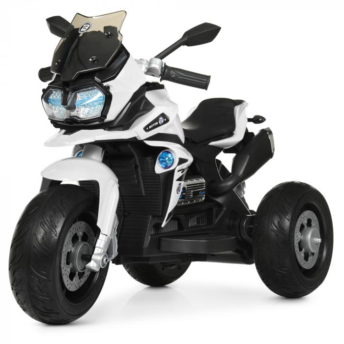 Мотоцикл Bambi M 4117EL-1 Белый