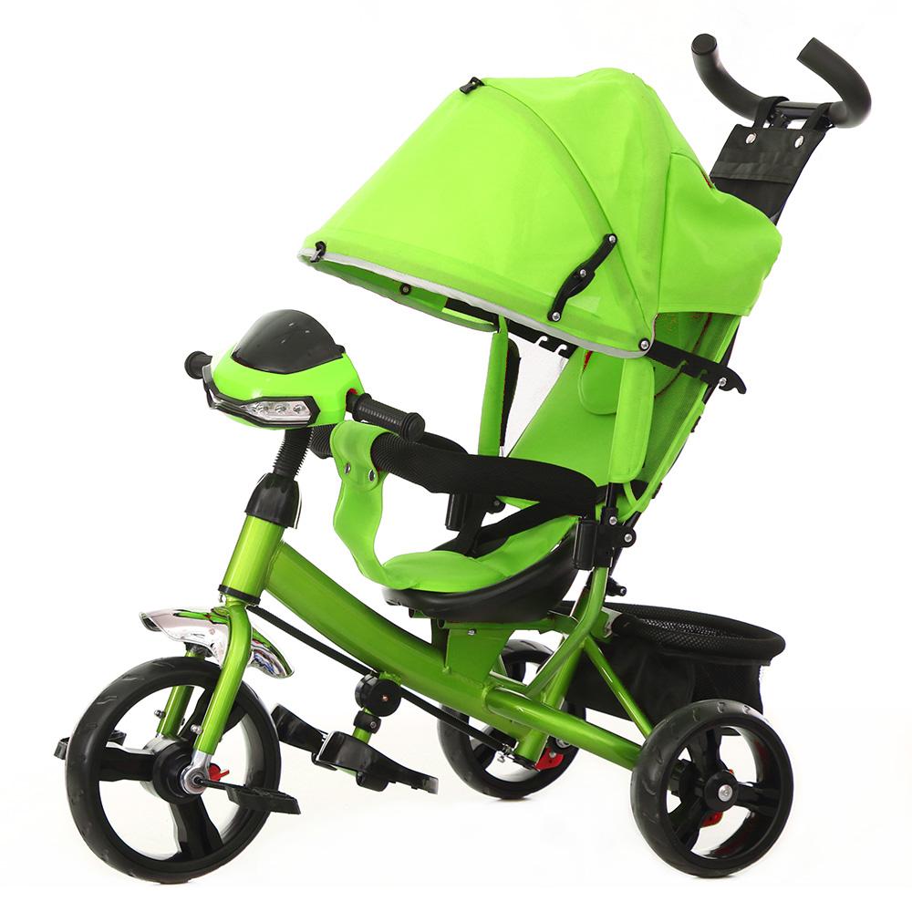 Детский Велосипед трехколесный TILLY TRIKE T-347 Салатовый