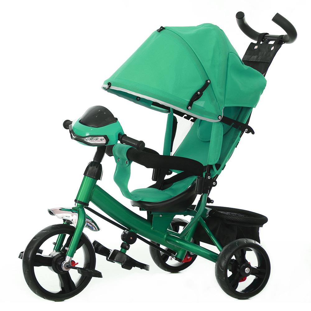 Детский Велосипед трехколесный TILLY TRIKE T-347 Зелёный