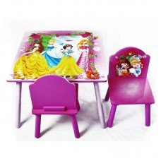 столик со стульчиками принцесса