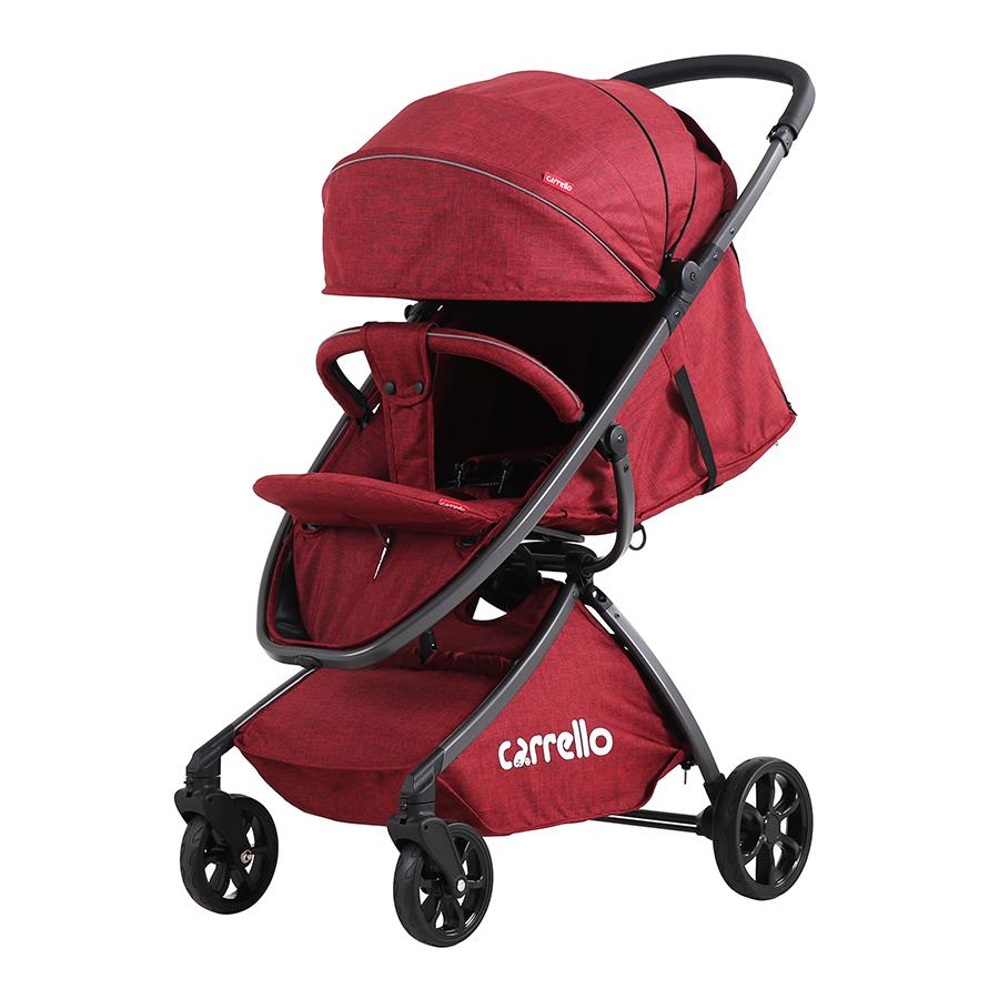 Коляска прогулочная CARRELLO Magia CRL-10401 Red алю рама