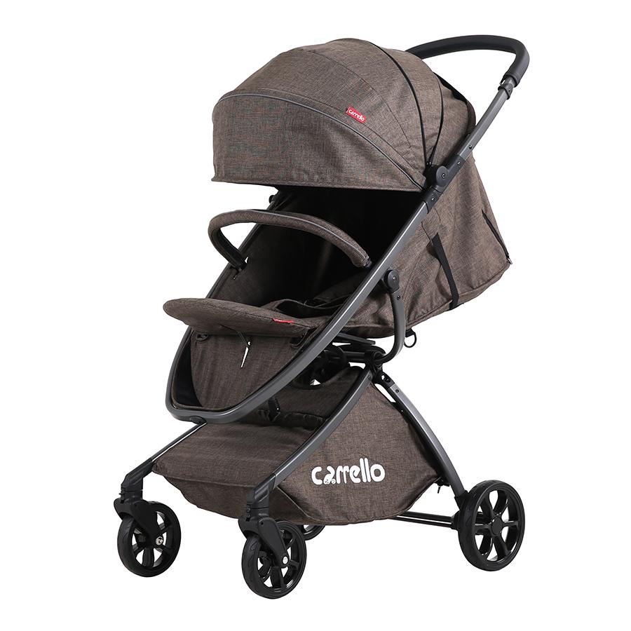 Коляска прогулочная CARRELLO Magia CRL-10401 Brown алю рама
