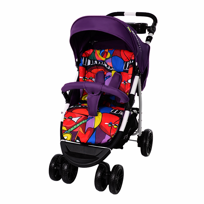 Коляска прогулочная TILLY Avanti T-1406 Purple с матрасом