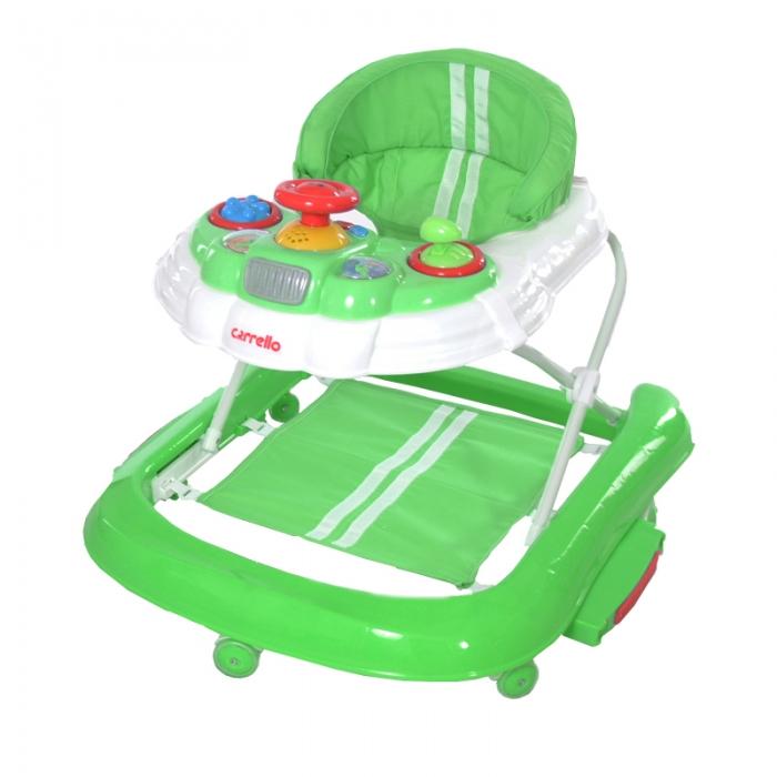Ходунки CARRELLO Forza CRL-9601 Green 2 в 1 (ходунки, качалка)
