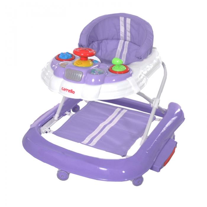 Ходунки CARRELLO Forza CRL-9601 Purple 2 в 1 (ходунки, качалка)